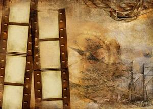 Image 4 - Exquisite Old Wallpaper Wall Painting with Roll Studio Props Photography Background Retro Photo Backdrop 5x7ft