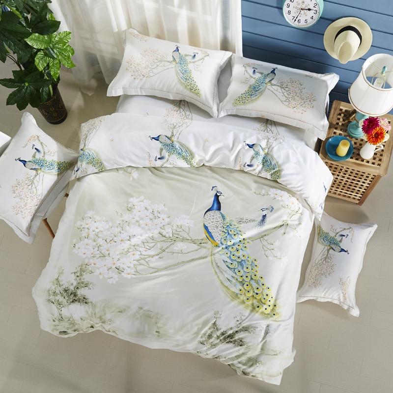 IvaRose Peč s svileno odejo prevleko za odejo plosko blazino 4pc - Domači tekstil
