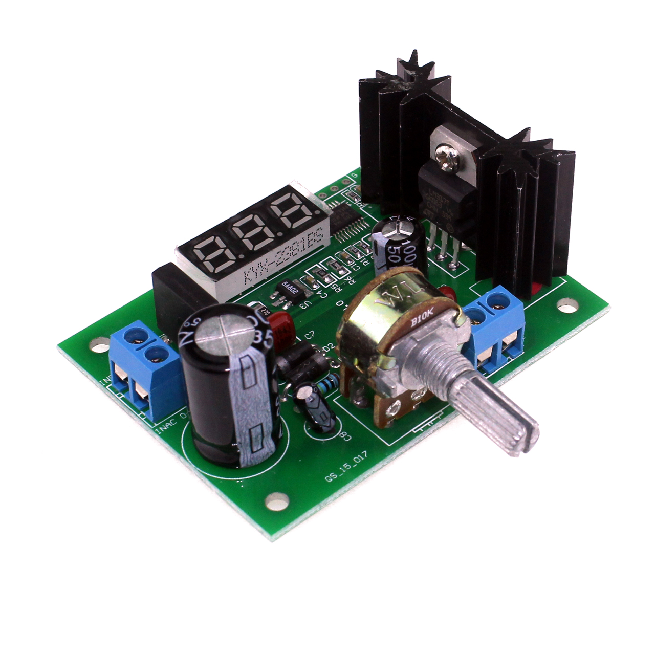 LM317 AC/DC Continuously Adjustable Voltage Regulator Step-down Power Supply Module with LED Display 1.25V-28V DCLM317 AC/DC Continuously Adjustable Voltage Regulator Step-down Power Supply Module with LED Display 1.25V-28V DC