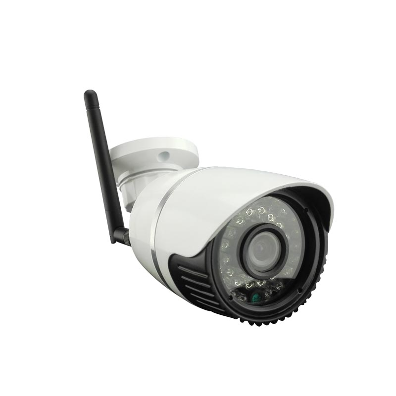4CH HD 960P 1.3MP Audio 36IR-Cut White Metal CCTV Wireless Dome IP Camera Outdoor Security System 9CH NVR Audio