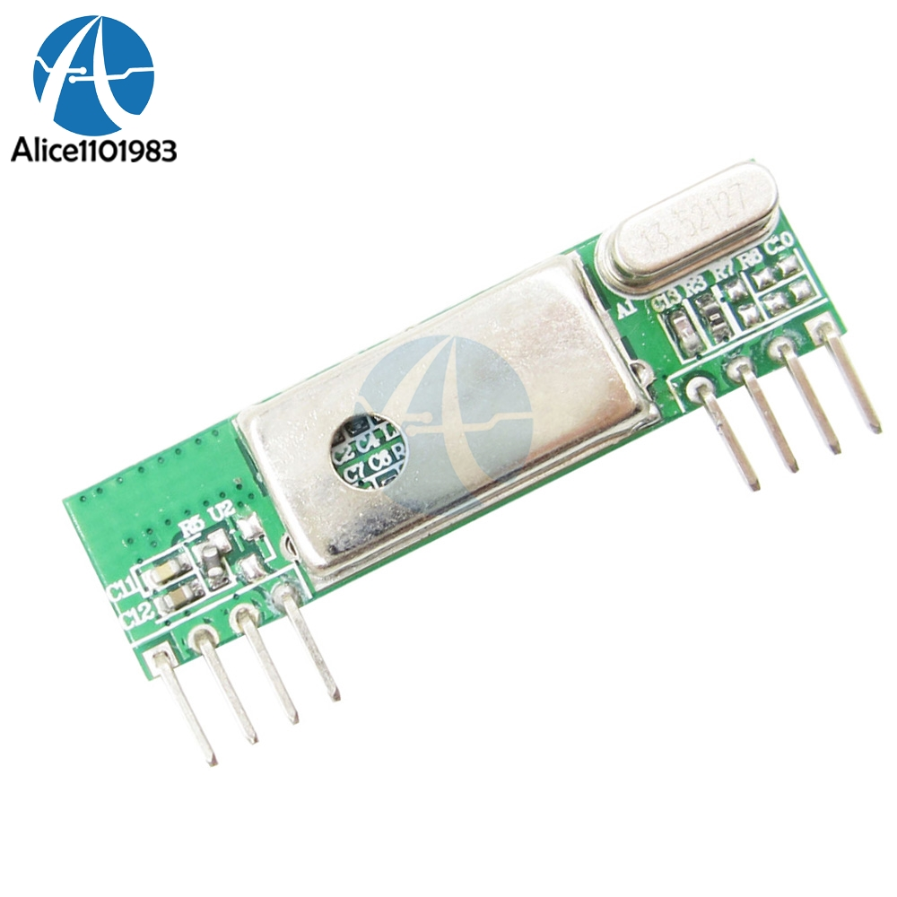 RXB6 433Mhz Superheterodyne Wireless <font><b>Receiver</b></font> Module 3v 5.5v Low Power RSSI Signal Board For Arduino ARM <font><b>AVR</b></font> Oscillator image
