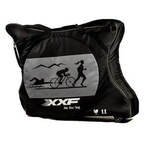 Image 2 - Xxfバイク旅行バッグケースバイクトライアスロンttためmtb 700Cロードバイク空気パッドプロテクター防水自転車アクセサリーbicicleta