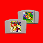 Marioed Partito/Super MRO Inglese Versione NTSC 64 Bit Console di Gioco Cartuccia