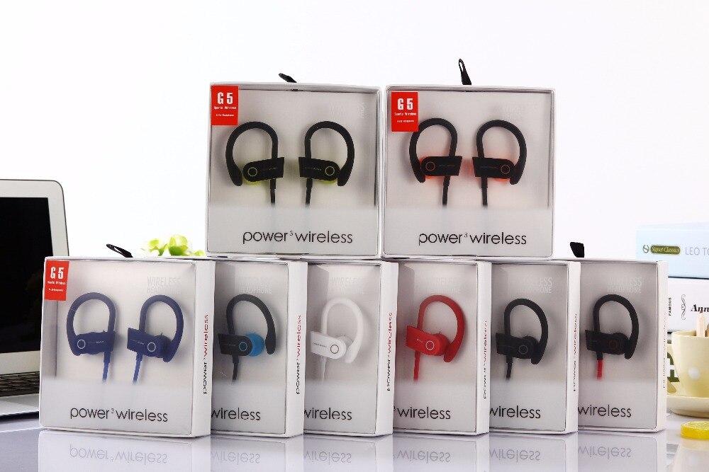 G5 Auriculares Bluetooth Inalámbrico Deportes Auriculares con Micrófono de Alta