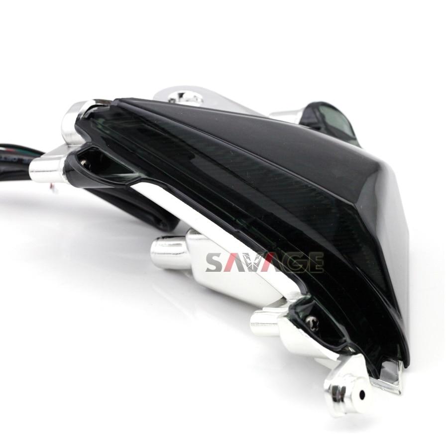 Para kawasaki zx-10r zx10r 2004-2005 motocicleta accesorios frontal led luces indicadoras de intermitencia blinker