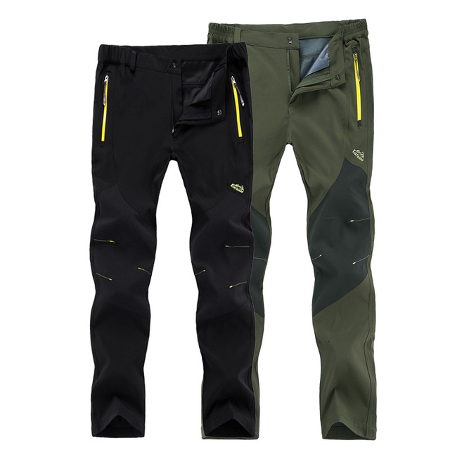 New women/Men Pants Quick Dry UV Resistant Fast Drying Speed Dry Active Pant For Man Softshell waterproof Trousers size M~5XL