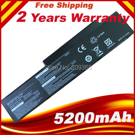 Laptop Battery For Packard Bell EasyNote MB88 MB89 ARES GP2W GP3W Hera C G MV/V HGL1 SQU-701 SQU-712 SQU-714 EUP-PE1-4-22