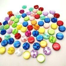 HL 100pcs 12mm Mix Color resin Shirt Buttons Pearl Buttons  Garment Sewing Accessories DIY crafts A102