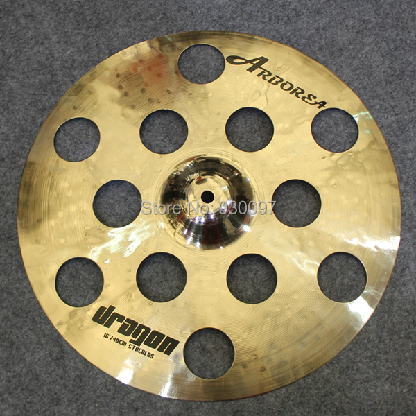handmade B20 cymbal ,DRAGON series New designed 16  O-ZONE cymbal high quality b20 cymbals dragon 16 o zone china