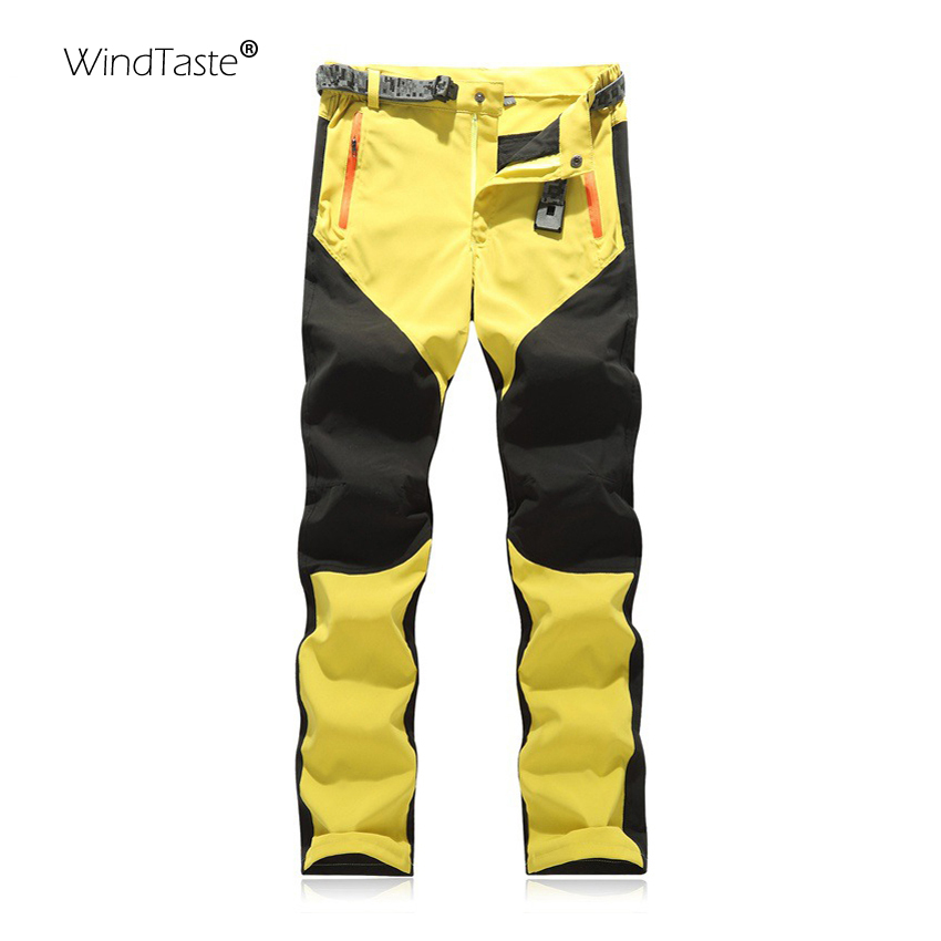 WindTaste Women's Summer Outdoor Camping Pants Breathable Hiking Trekking Climbing Quick Dry Elastic Sport Trousers Female KB006