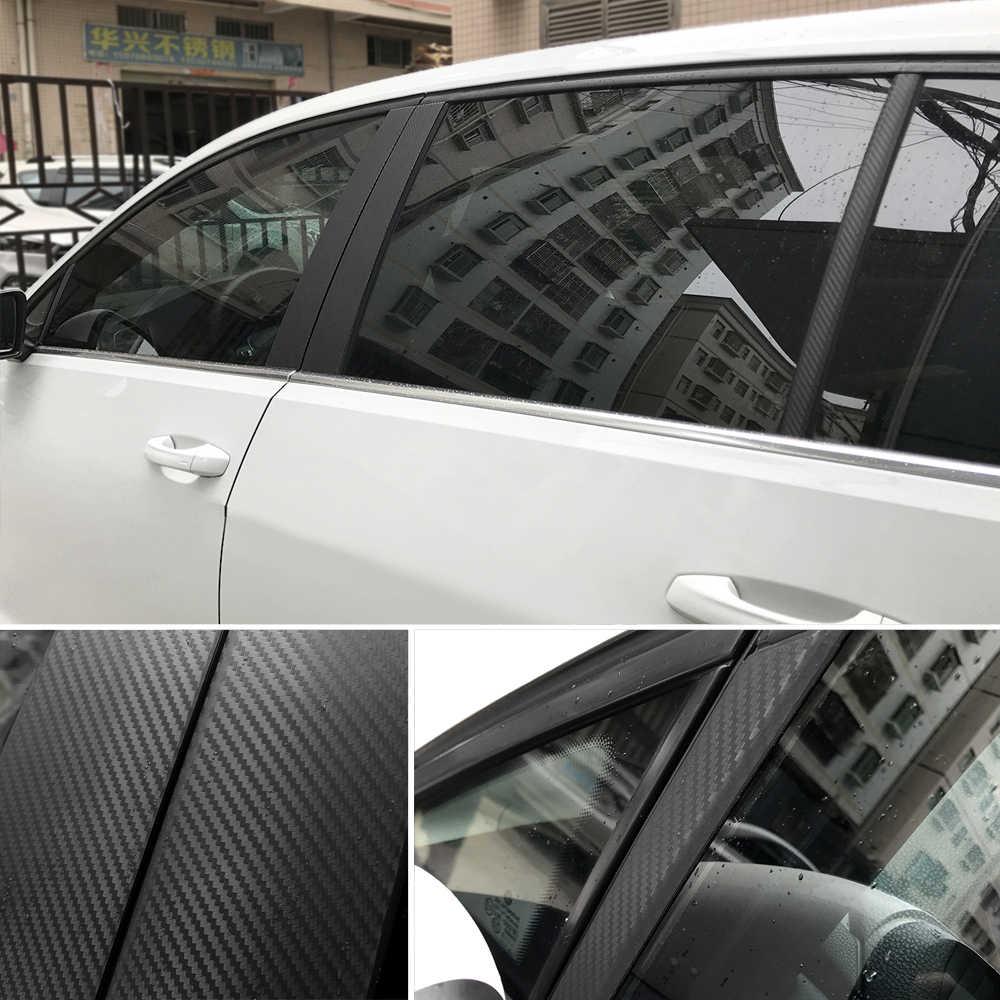 30x127 سنتيمتر 3D 5D سيارة الكربون الألياف الفينيل ملصقات الشارات ل BMW 335is سكوتر غران 760Li 320d 135i e60 E36 F30 F30