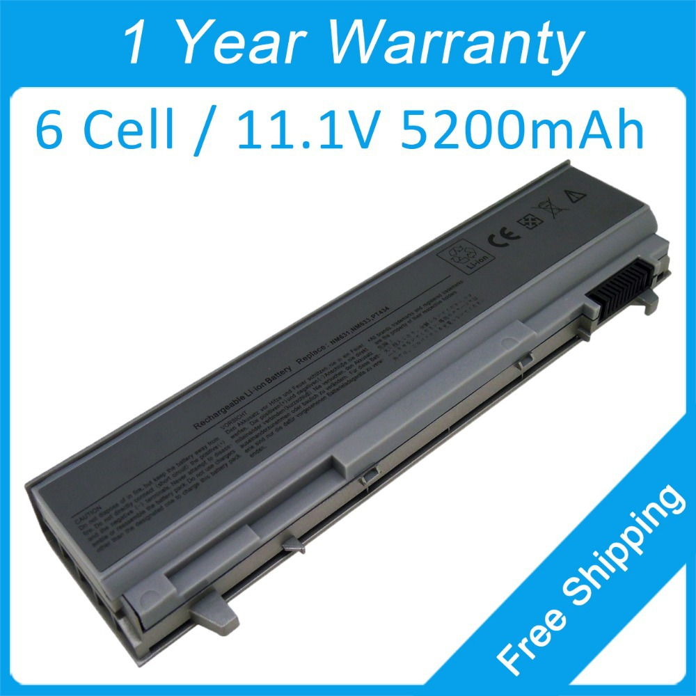 Hot!! Laptop battery for dell Precision M4400 M6400 M4500 0KY466 0KY477 0MP303 0MP307 0MP490 0NM631 0NM632 0NM633 image