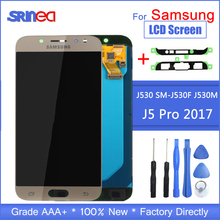 J5 2017 LCD For Samsung J5 Pro Screen Replacement LCD Display And Touch Screen Digitizer Assembly Adjustable With Adhesive Tools
