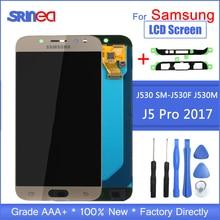 J5 2017 LCD para Samsung J5 Pro Pantalla de repuesto pantalla LCD y montaje de digitalizador con pantalla táctil ajustable con herramientas adhesivas