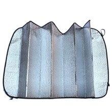 Универсальный серебристый цвет покрытие защитный солнцезащитный экран для автомобиля крышка автомобильный козырек на лобовое стекло окно Солнечный свет УФ Защита отражателя