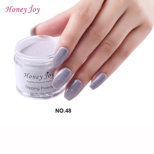 28g/Box #48 Elegance Grey Dip Powder Nails Dipping Nails Get ...