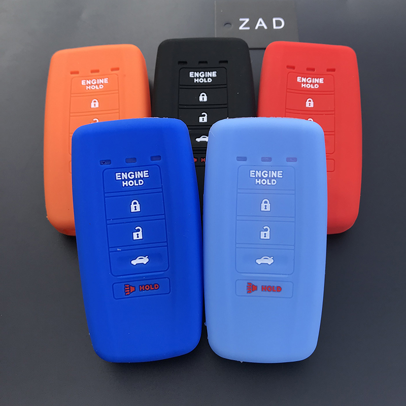 ZAD Silicone Car Key Cover Case Skin Shell For ACURA ILX