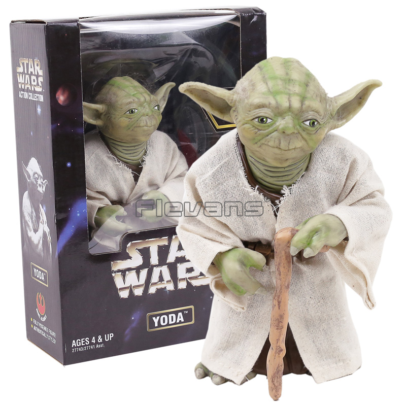 Star Wars Yoda The Jedi Master PVC Action Figure Collectible Model Toy new hot star wars 7 the force awakens kylo ren pvc action figure collectible model toy 16cm