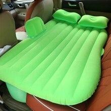 Автомобильные матрац кровати путешествия надувной матрас воздуха кровать кемпинг диван спинки сиденья Хорошее качество для bmw e87 f34