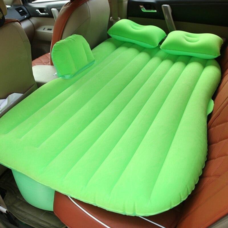 Automotive Luft Matratze Travel Air Bett Camping Aufblasbare Sofa Auto Hinten Sitz Kissen Mit Kissen Gute Qualität Für bmw e87 f34