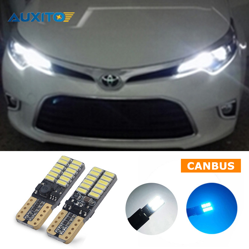 T10 W5W Car Clearnce Light Parking Lamp For Toyota Corolla Avensis Yaris Rav4 Auris Hilux Prius Camry 40 Celica Prado Fortuner