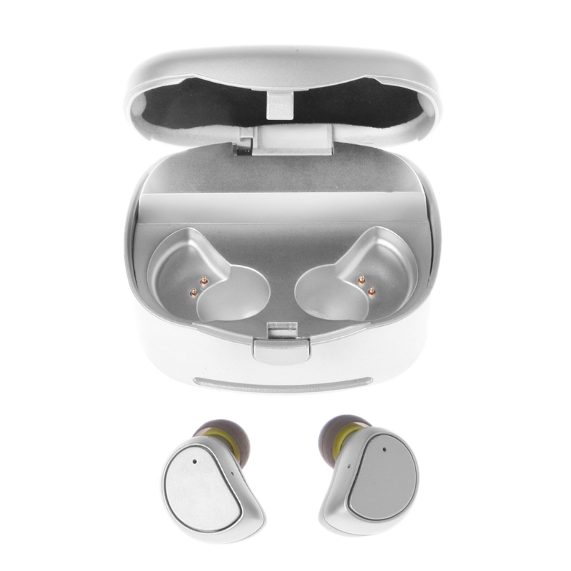 OOTDTY Mini TWS Earbuds Wireless Bluetooth 4.1 Earphone Waterproof Sports Headset With Mic new dacom carkit mini bluetooth headset wireless earphone mic with usb car charger for iphone airpods android huawei smartphone