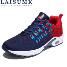 LAISUMK Spring/Summer Breathable Mesh Lovers Leisure Footwear Casual shoes Soft Light Weight Couple Fashion Trend Shoes