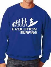 Evolution Of Surfing/Surfer Funny Sweatshirt/Jumper Unisex Birthday Gift More Size and Color-E215