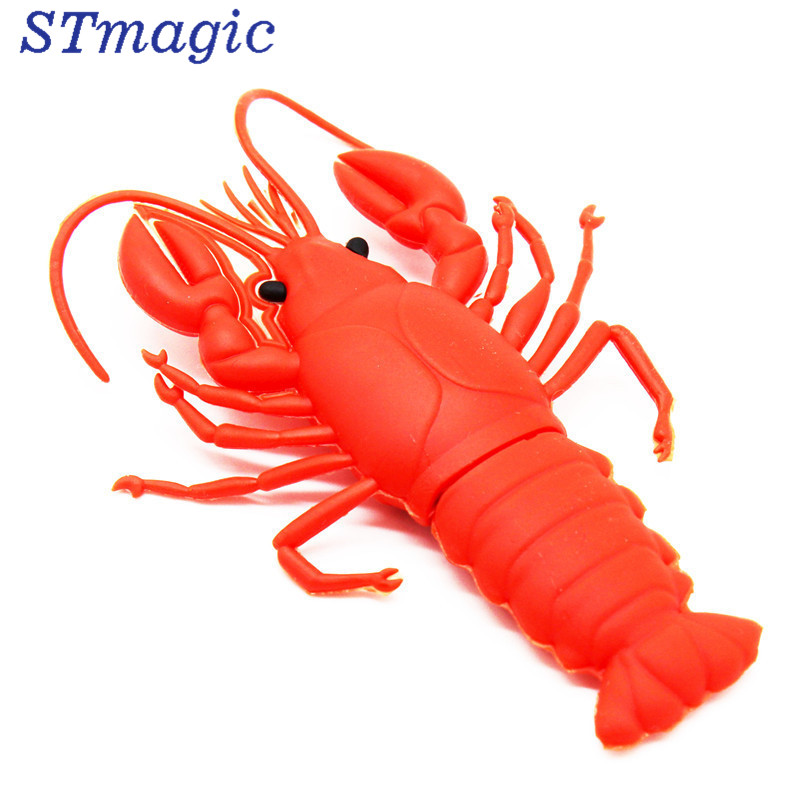 STmagic real capacity U Disk pendrive Minnie lobster cute style usb flash drive