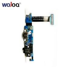 WOJOQ Original USB Dock Port Charging For Samsung S6 Edge G925F G925T G925I G925P Microphone Flex cable Repair Parts
