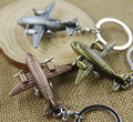 airplane model keychain key ring retro key chain llaveros hombre creative chaveiro portachiavi free shipping