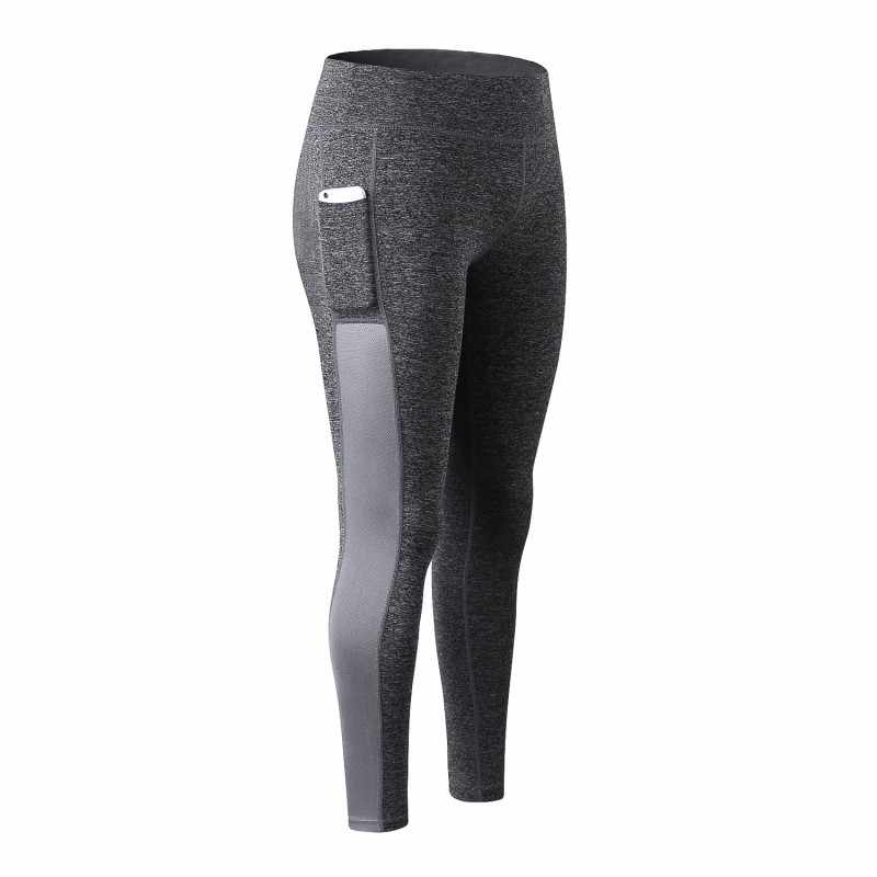 b78bf07477c48 Super Stretchy Fitness Leggings Women Pocket Stitching Mesh Sportwear High  Waist Energy Seamless Tummy Control Workout