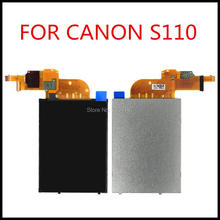 New LCD Show Display screen For Canon PowerShot S110 PC1819 Digital Digital camera Restore Half With Backlight and Contact