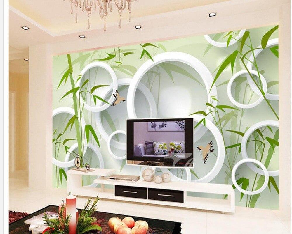 US $14.1 53% OFF Tapete 3d modernen Bambus vogel 3D TV hintergrund  wallpaper für wände rollen Dekoration badezimmer 3d wallpaper-in Tapeten  aus ...