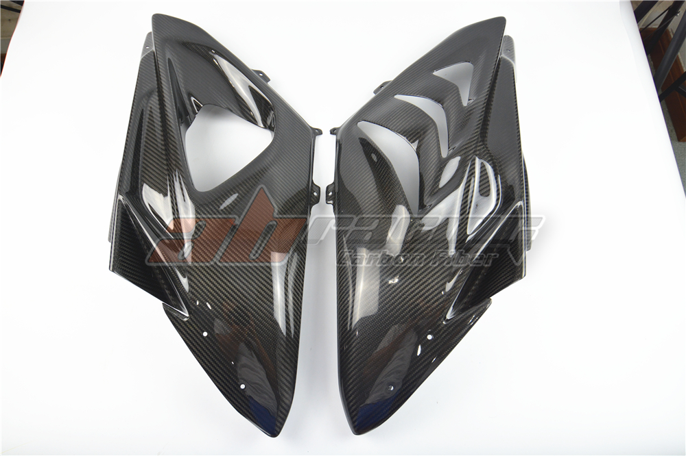 Side Panels Racing With The Frame Side Panels For <font><b>BMW</b></font> <font><b>S1000RR</b></font> 2009-2014 Full <font><b>Carbon</b></font> <font><b>Fiber</b></font> , 100%, Twill image