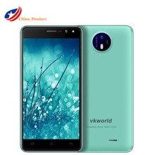 """Vkworld F2 3 г телефон 5.0 """"HD IPS MT6580 Quad Core 5 дюймов Дисплей 2 ГБ Оперативная память 16 ГБ Встроенная память 8MP двойной вспышкой Android 6.0 смартфон"""