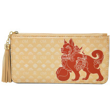 Feng Shui Lucky Fu Dog Wallet (LIGHT BROWN)(China)