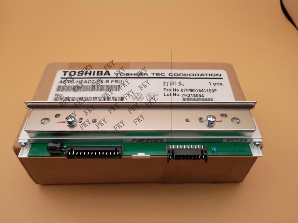 B SX5T 300DPI new original Thermal Print Head   for Toshiba Barcode Printhead TEC B SX5T ASYB HEAD2 SX R FRU Print Head Printer Parts     - title=