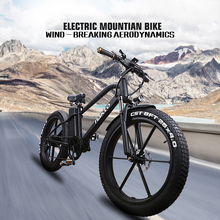 26inch Fat e-bike 48V500W snow electric bicycle lithium battery mountian bike 4.0 tires beach MTB 3.5 LCD meter Off-road