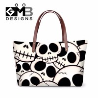 Latest Women S Skull Pattern Over Shoulder Handbags Ladies Stylish Large Tote Bag Cool Vintage Handbags