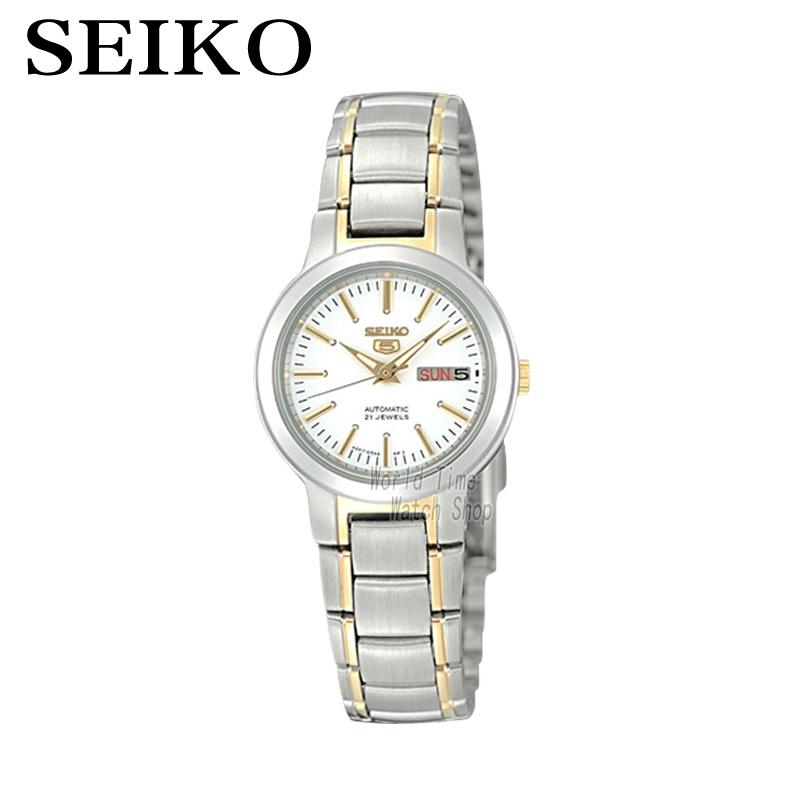 [ pre sale november 11 delivery ] seiko watch seiko 5 automatic sports st aviator 24 jewels men s watch made in japan srp349j1 SEIKO Watch No. 5 Automatic Simple fashion automatic mechanical watch female watch SYME44K1