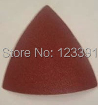 Free Shipping 20PCS Triangular Sandpaper Sand Paper 80#  For Most Of Oscillating Mulitifunctional Tools Using