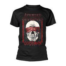 294b85fa693 Hombres camiseta hombres ropa Plus talla top Avenged Sevenfold Dios maldito  la etapa Rock licenciado camiseta hombres