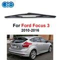 Oge 14 ''rear limpiaparabrisas para ford focus mk 3 2010-2016 accesorios autos del coche parabrisas de goma de silicona