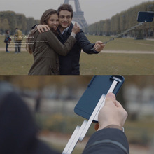 """The First Selfie Stick Case Cover for Apple iPhone 6 6S 4.7""""/Plus 5.5 Transforms Into A Selfie Stick With One Quick Pull STIKBOX(China (Mainland))"""