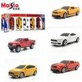 MaiSto 5 ШТ. 1: 64 Сплава модели автомобиля Ford серии Спортивный автомобиль пикап kids toys