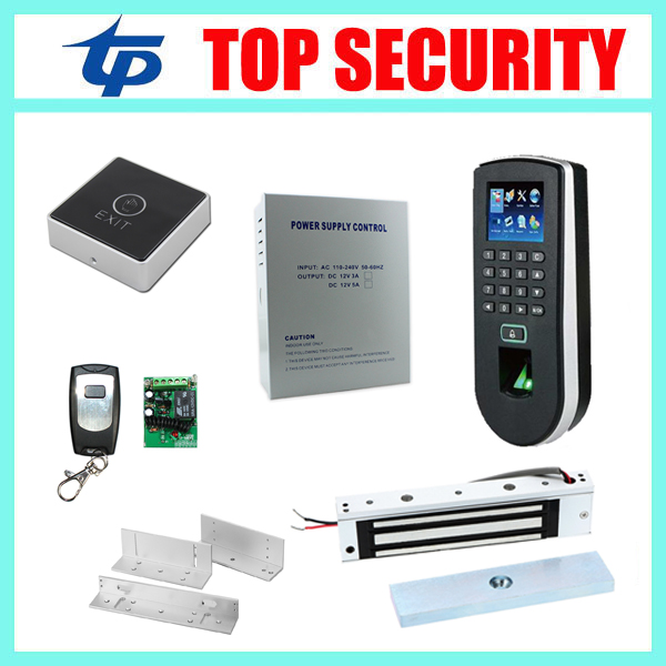 TF1900 biometric fingerprint time attendance and access control system with door lock fingerprint recognition access controller