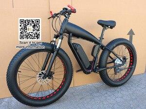 سعر الدراجة الجبلية الكهربائية الدهون الدراجة 48 فولت 21 سرعة 10A/15A/18A المحرك 4.0 دراجة الدهون الإطارات الدراجة الجبلية 26 بوصة