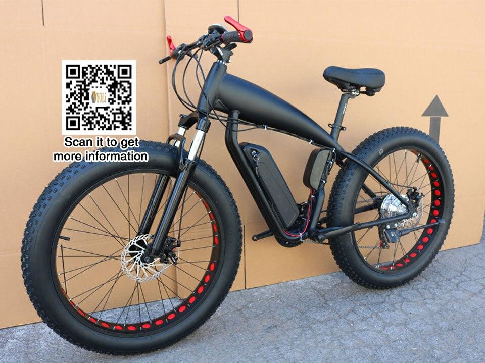 Bicicleta de Montaña precio Bicicleta grasa eléctrica 48 V 21 velocidad 10A/15A/18A motor 4,0 bicicleta grasa neumático bicicleta de montaña 26 pulgadas