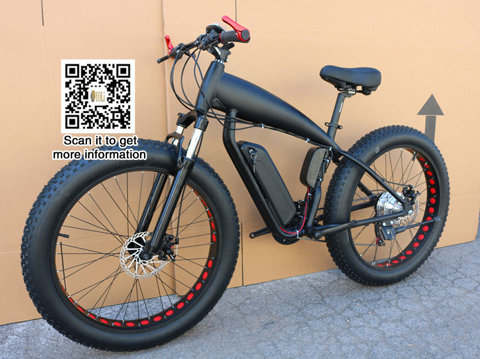 VTT prix électrique gros vélo 48 v 21 vitesse 10A/15A/18A moteur 4.0 vélo gros pneu VTT 26 pouces